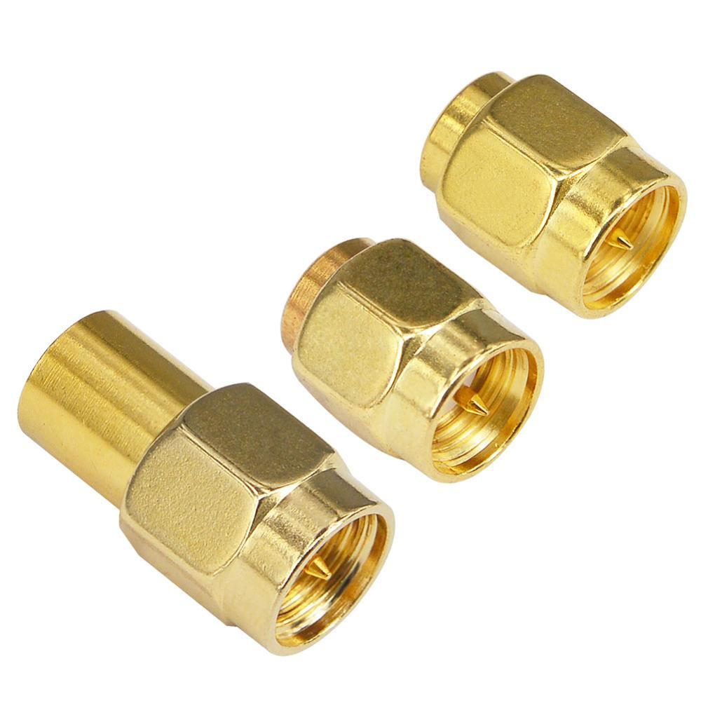 Étalonnage SMA de test dédié coaxial RF de haute qualité, comprenant un type court, un type de charge, un type ouvert, 50 ohms, DC à 6GHz 2W