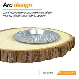 GUSIWU 1 шт. 100 мм деревообрабатывающий абразивный диск шлифовальные Дисковые Диски плоский и дуговой роторный диск из углеродистой стали Шлифовальный Инструмент для резьбы по дереву