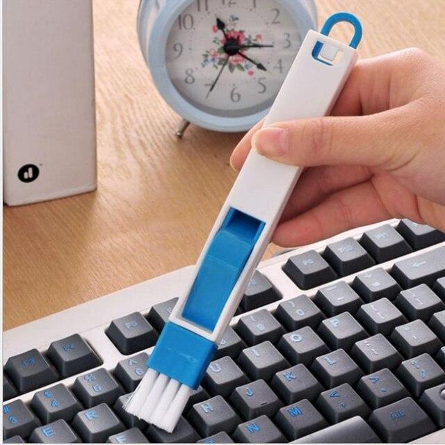 Çok fonksiyonlu Fırça Yuvası Pencere Bilgisayar Klavye Temizleme Aracı Mutfak Temizleme Fırçası Bilgisayar Temizleyicileri