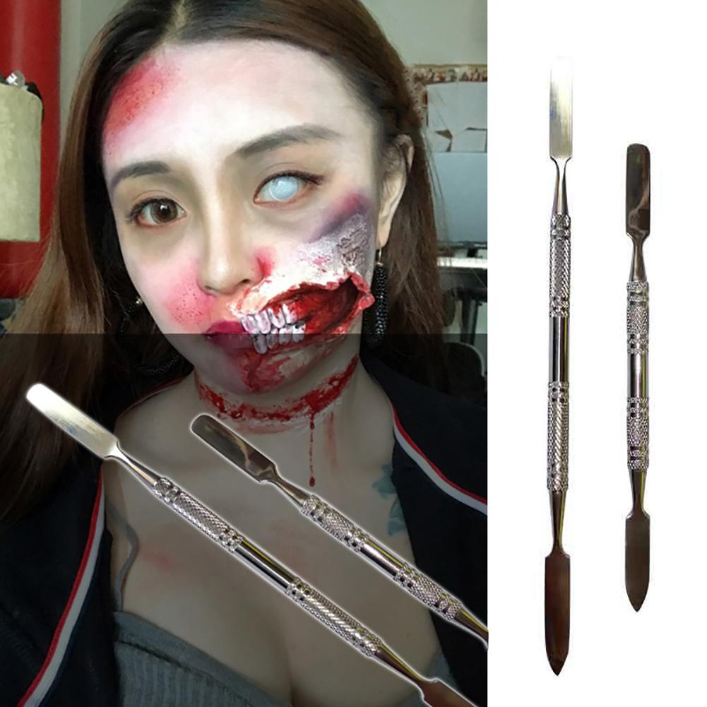 1Pcs Professional Modeling Putty Wax Knife For Special Effects Halloween Movie Metal Stainless Steel Jewelry Equipment