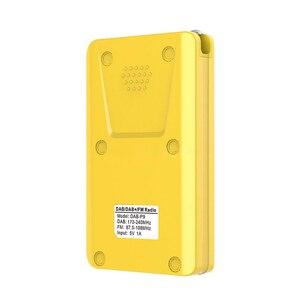Image 5 - ใหม่วิทยุแบบพกพาDAB + Digital Radioแบตเตอรี่ชาร์จวิทยุFMจอแสดงผลLCD EU Plugลำโพงสำหรับการจัดส่งDrop