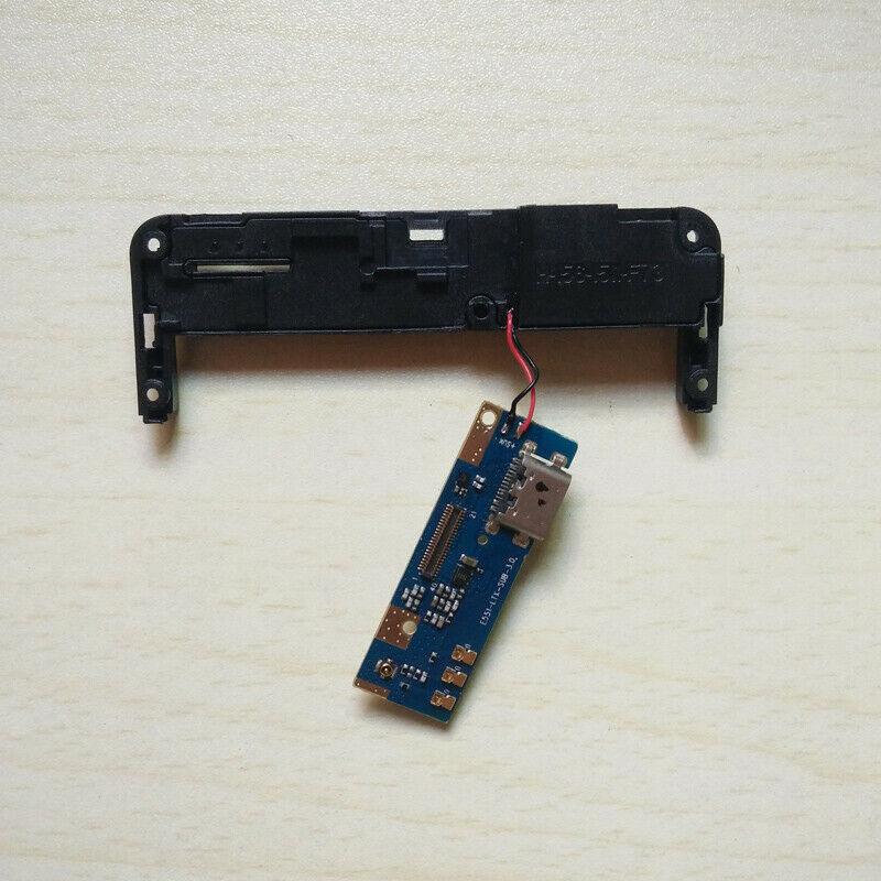 New For BluBoo S3 Phone USB Charging Port Board Charge Port MIC+Loud Speaker Loudspeaker Repair Dock Flex Cable