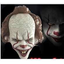 Stephen King's It Mask Pennywise Horror Clown Joker Mask Clown Mask Halloween Cosplay Costume Props(China)
