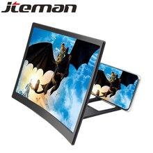 Универсальный 12 дюймов таблетка для сотового телефона увеличительное стекло для телефона усилитель de pantalla para телефон 3d чехол для телефона увеличитель экрана стекло усилитель экран