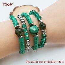Cxqd модный из нержавеющей стали Полимерная глина Кристалл бисера