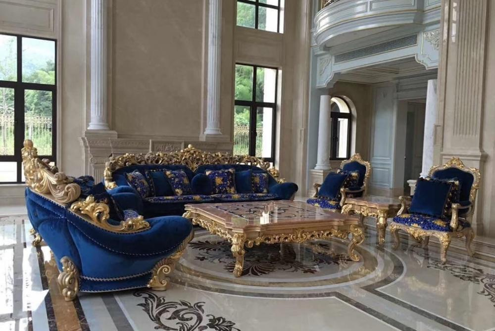 18th Century Glorious Palace Style Sofa Set with Claws / Sumptuous 1+2+3 Seaters 6