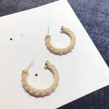 цена High Quality 1:1 Swa New Female Fashion Jewelry Earrings в интернет-магазинах