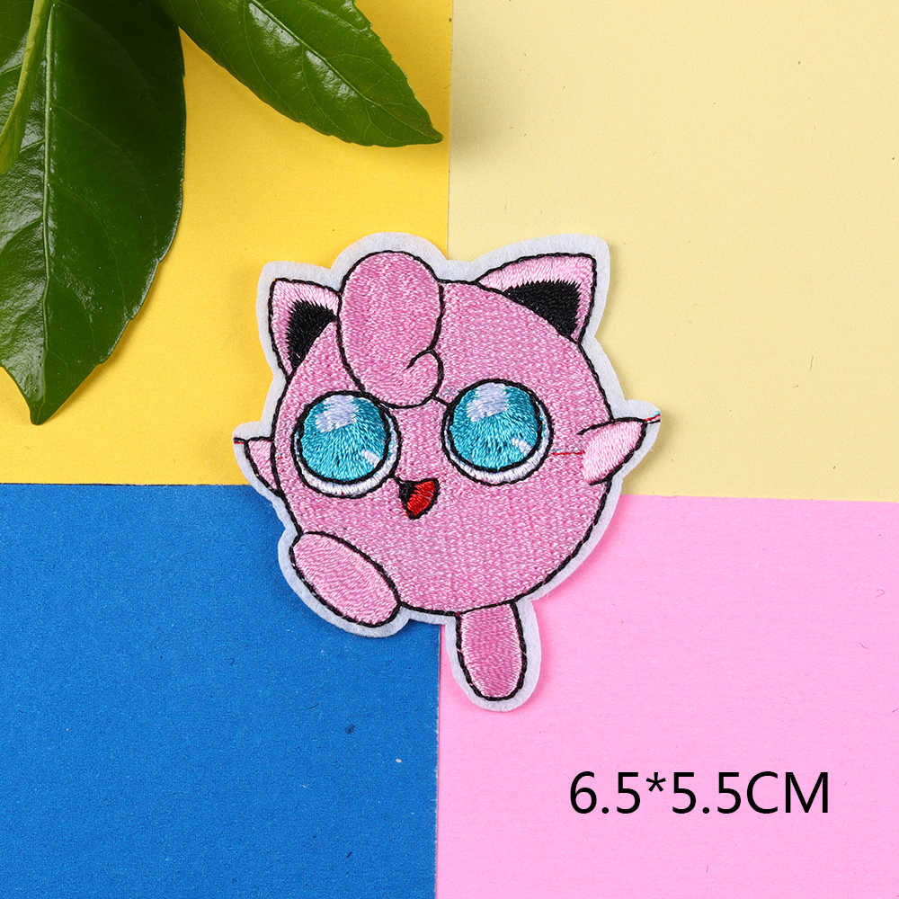 Patch Iron-On Rapidash Horse Pokemon Embroidered Applique Patches For Kids