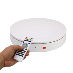 20/32cm 360 degrés télécommande vitesse Direction bijoux affichage électrique rotatif bijoux organisateur photographie présentoir