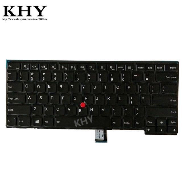 جديد لنا IND الخلفية لوحة المفاتيح لباد L440 L450 L460 T440 T440P T431S T440S T450 T450S T460 04X0101 04X0139 00HW837 01AX310