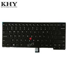 Nowy US IND podświetlana klawiatura dla ThinkPad L440 L450 L460 T440 T440P T431S T440S T450 T450S T460 04X0101 04X0139 00HW837 01AX310
