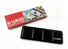 Lukas Importiert Original Deutschland 24 Farben Solide Aquarell Farben Transparent Wasser Farbe Skizzieren Tragbare Kunst Liefert