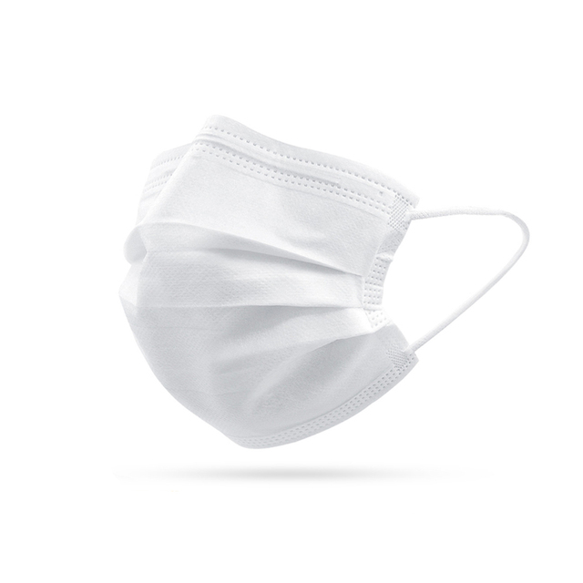 10/50/100 Pcs Face Mouth Protective Mask Disposable Protect 3 Layers Filter Dustproof Earloop Non Woven Mouth Masks