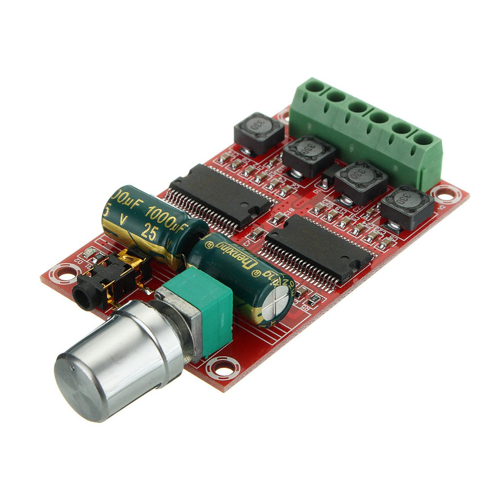 XH-M531 DC 12V 20W+20W HIFI D Class Dual Channel, Digital Amplifier Board Two-channel Amplifier Board