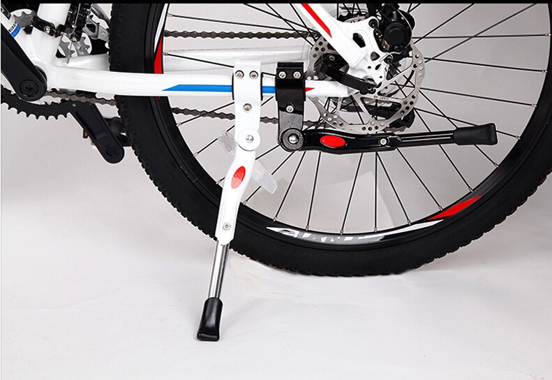 Wholesale Bicycle Accessories Aluminum Alloy Mountain Bike Side Support Adjustable Foot Frame Bicycle