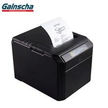 Термальный чековый принтер термальная печать Qr-код счет Gainscha 80 мм Мини POS принтер