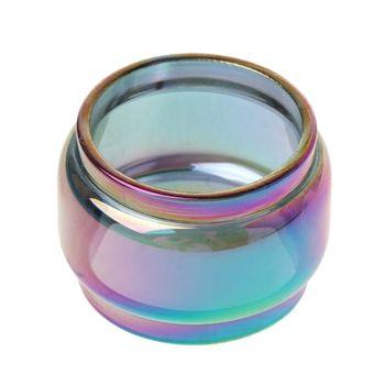 Remplacement Transparent de réservoir en verre de Pyrex de Tube en verre de Fatboy d'arc-en-ciel pour des accessoires d'atomiseur de réservoir de Subohm de Cerberus