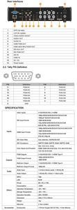 Image 5 - Avmatrix VS0601 Mini commutateur vidéo multi format SDI/HDMI 6 canaux avec barre en T, AUTO, transitions de coupe et effets dessuyage