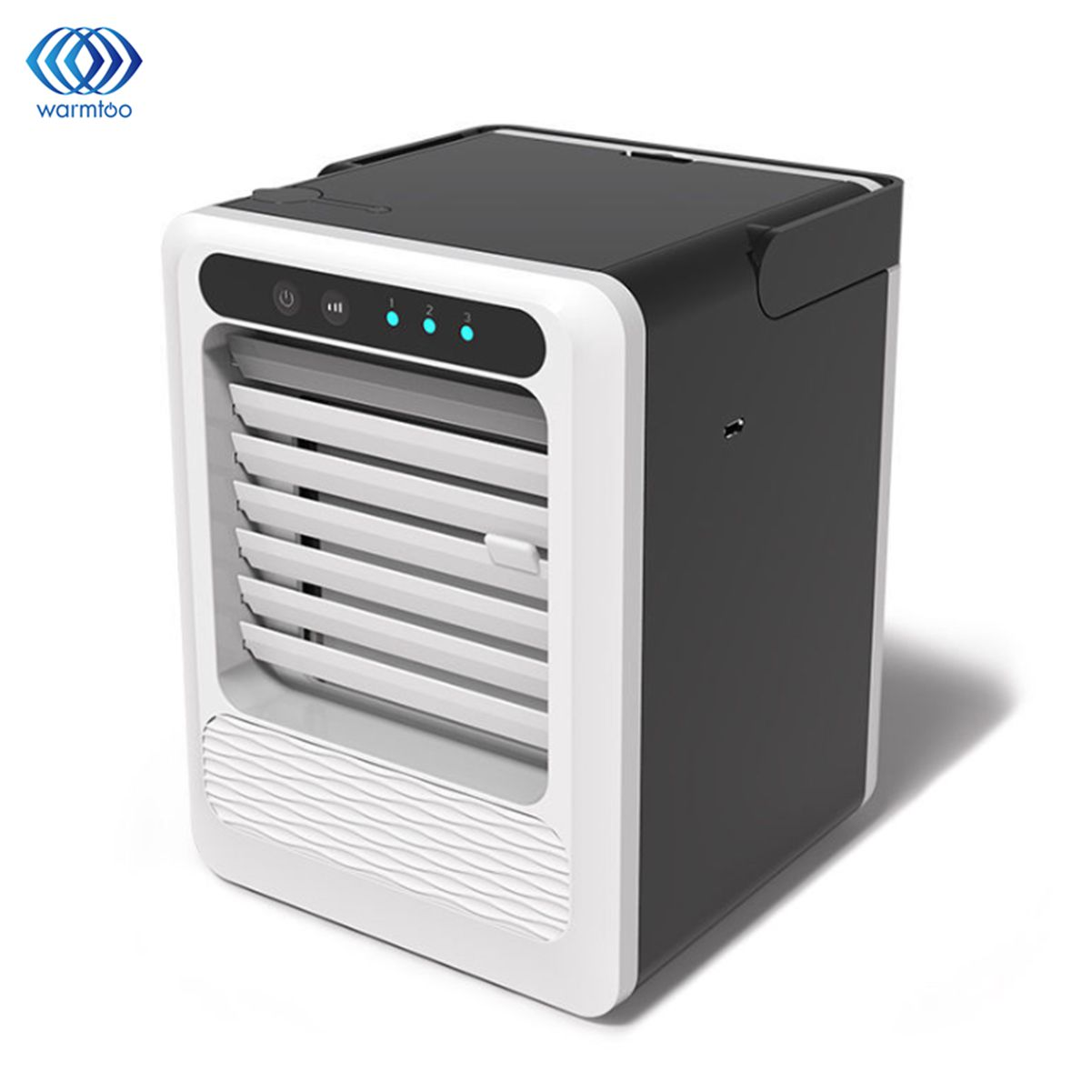 Portable Air Conditioner Mini USB Air Cooler Fan Cooling Humidifier Home Room Air Conditioning Quick & Easy Way To Cool 3 Gear
