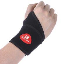 1 PCS Einstellbare Kompression Armband Kreuz-grenze Hohe Elastische Handgelenk Unterstützung für Gym Gewichtheben Badminton Sport Handgelenk Klammer
