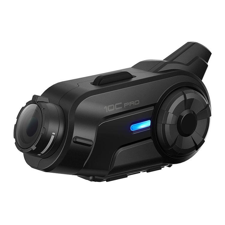 Free Shipping Make For  Sena 10C Pro Motorcycle Helmet Riding Bluetooth Intercom Headset Video Tachograph