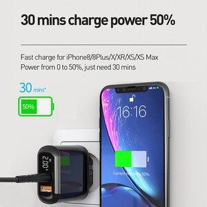 Image 5 - Mcdodo cargador USB de carga rápida para móvil, cargador de teléfono de 18W de carga rápida 4,0 PD para iPhone 11 Max Pro X XR XS Xiaomi Samsung S10 9 Huawei