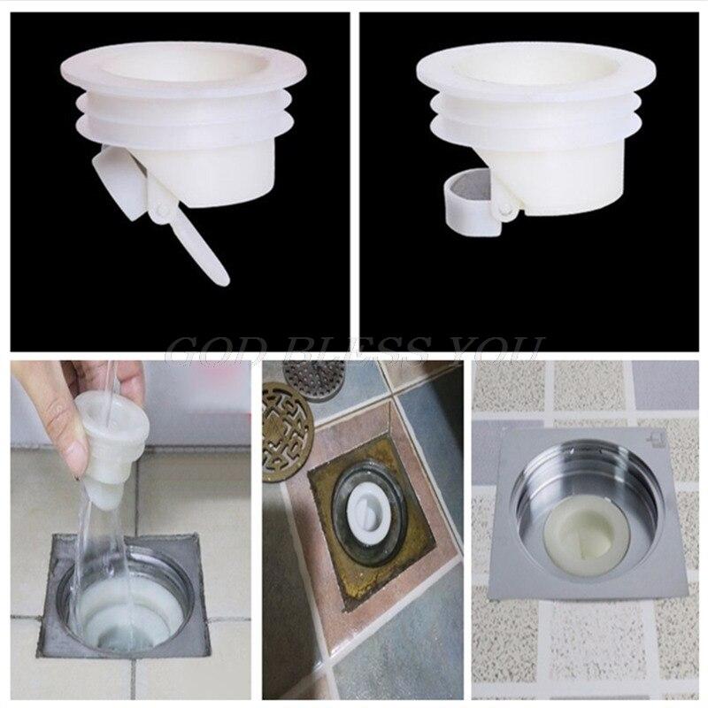New Bath Shower Floor Strainer Plug Trap Siphon Sink Bathroom Water Drain Filter Anti Odor Insect Prevention Deodorant