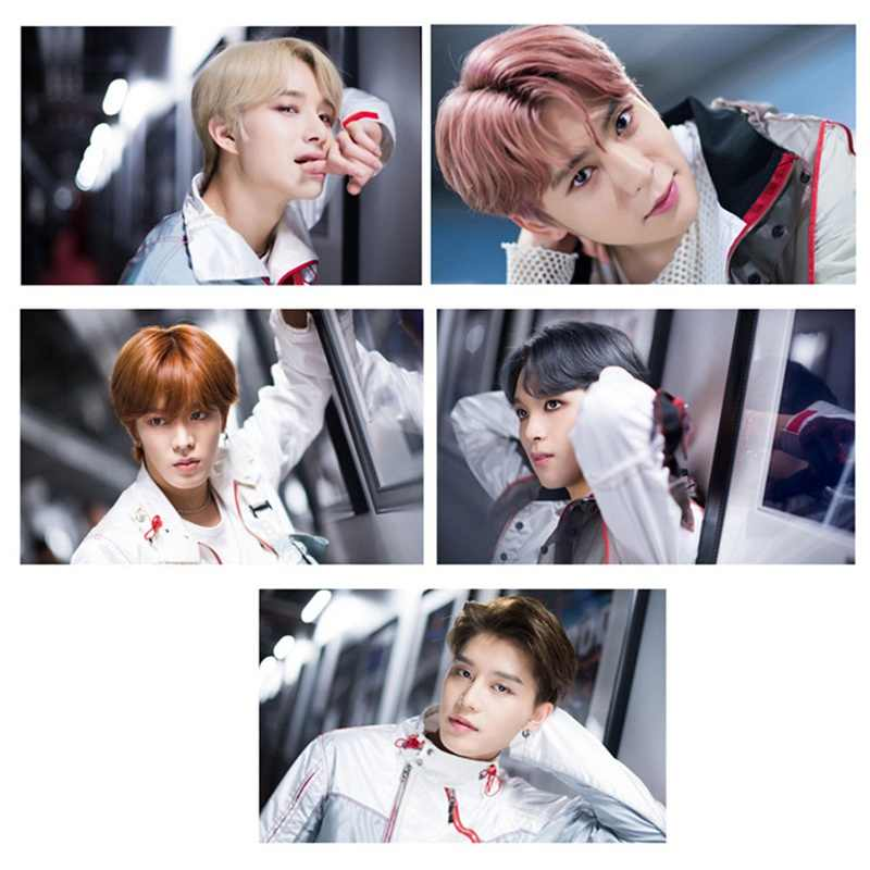 Kpop NCT 127 U Droom Empathie Lomo Foto Kaart Sticker Sticky HD Photocard Poster 18pcs