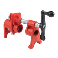 3/4 Inch Heavy Duty Pipe Clamp Wood Gluing Woodworking Tool Fixture Carpenter Woodworking Tools|Woodworking Machinery Parts| |  -