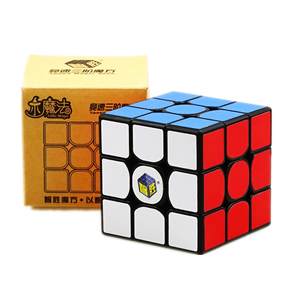 Yuxin Little Magic Cube 3x3 Black Stickerless Cube  3x3x3 Cubo Magico 3Layers Speed Cube Professional Puzzle Toys For Children