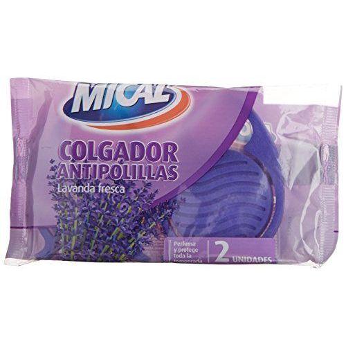 Mical–Gancio Anti-tarme, Lavanda, 2pezzi–[Confezione Da 8]