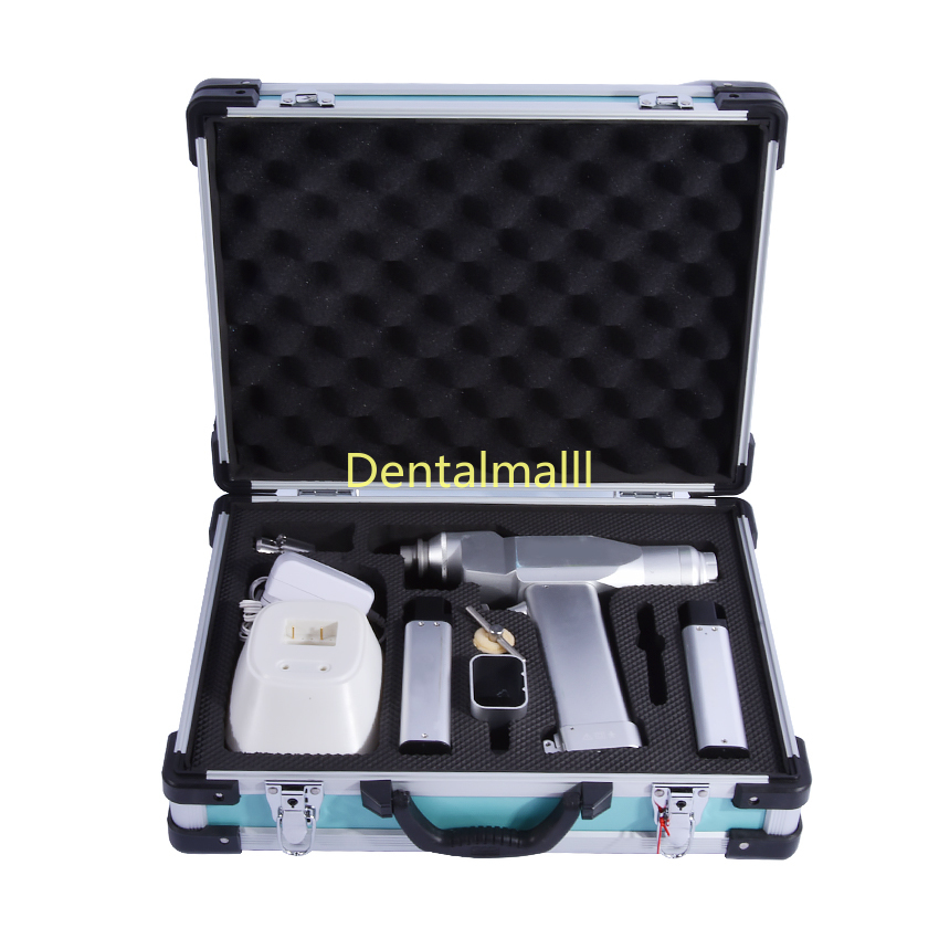 Dual-use Hollow Drill Surgical Orthopedic Electric Bone Hollow Drill Canulated 85W 12.5N.m AC220v/50HZWith 2 Batteries