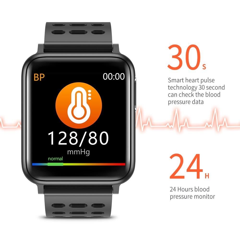 KYCXD smartwatch ekg blutdruck herz rate blut sauerstoff überwachung sport armbänder wasserdichte fitness armband - 2