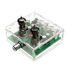 AMS-AC 12V 6J1 Valve Pre-amp Tube PreAmplifier Board Headphone Amplifier Buffer Case(China)