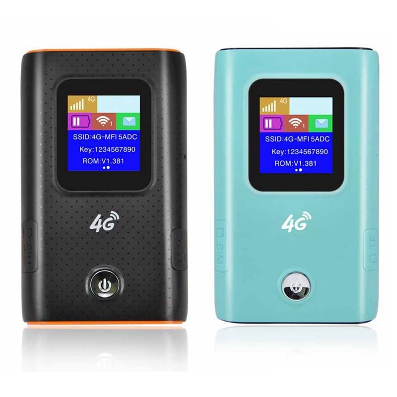 2 шт 4G Wifi роутер автомобильный мобильный Точка доступа беспроводной широкополосный Карманный Mifi разблокировка Lte модем беспроводной Wifi