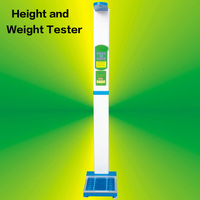 University Physical Fitness Screening All in one Height and Weight Tester Ultrasonic Body Scale Weighing Scale