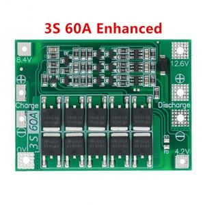 Image 5 - 3S/4S 40A 60A 리튬 이온 리튬 배터리 충전기 보호 보드 18650 BMS 드릴 모터 11.1V 12.6V/14.8V 16.8V 향상/균형