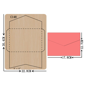 Image 1 - New card  Wooden die Scrapbooking C 148 Cutting Dies Compatible with most die cutting machines