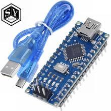 Microcontrôleur Nano 3.0 GREAT IT, 1 pièce, platine CH340 avec drivers USB ATMEGA328, ATMEGA328P, mini USB, avec commande de boot pour Arduino