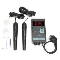 Eu Plug,Ow 204 Digital Orp Temperature Control Monitor Meter Ph Monitor Meter 100 240V