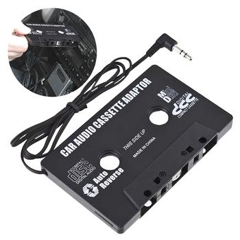 Podróży adapter do kaset konwerter domu Aux samochodu taśma audio Mp3 CD Stereo Auto narzędzie muzyka w 3 5mm Jack akcesoria radiowe tanie i dobre opinie Woopower JEEP