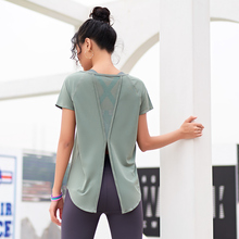 Sports T-Shirt Running Short-Sleeve Fitness Quick-Drying Yoga Women's for Female Tops