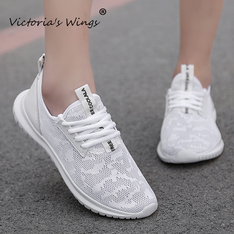 Hot Sale Victoria's Wings 2020 spring and autumn couples fly woven breathable casual shoes men's shoes women's shoes sports shoes