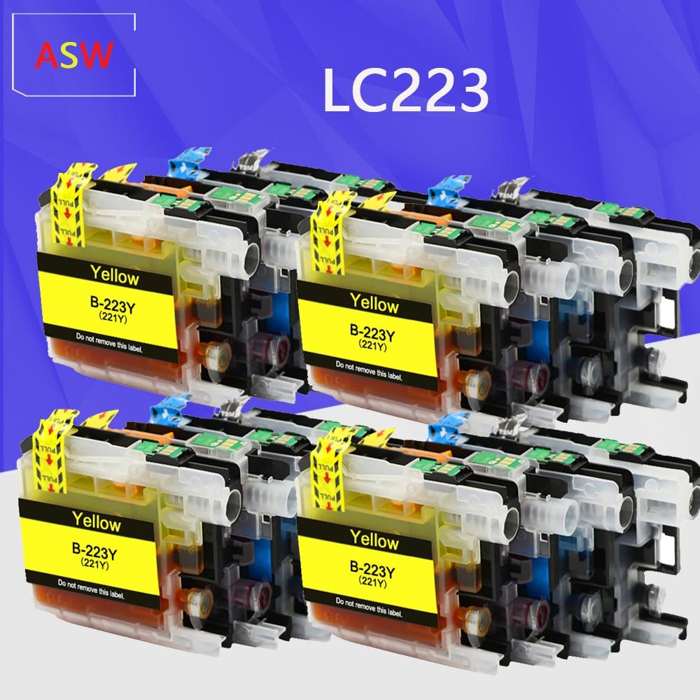 LC223 замена картриджа для Brother LC223 LC 223 LC223Bk переработанного чернильного картриджа для DCP-J4120DW MFC-J4420DW/J4620DW 4625DW 5320DW