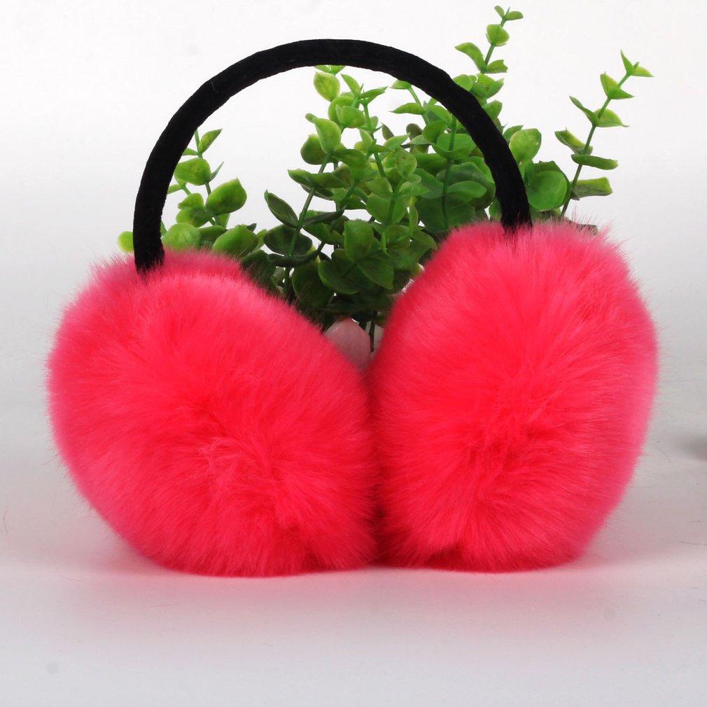 Winter Earmuffs Warmth Plush Warm Ears Ear Muff Men's And Women's Outdoor Ear Bag Imitation Rabbit Hair Cute Ear Muffs