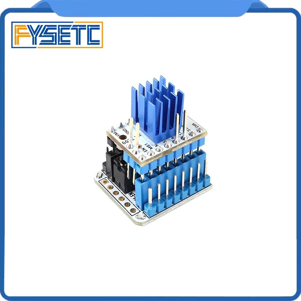 TMC2209 V3.0 Stepper Motor Driver Super Silent 256 Microsteps + USB Serial Port Tester Adapter Module
