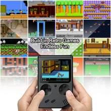 2020 lettore di giochi portatile lettore di Console per videogiochi retrò 400 in 1 giochi Console Video 8 Bit scatola da 3.0 pollici Console TV regalo per bambini