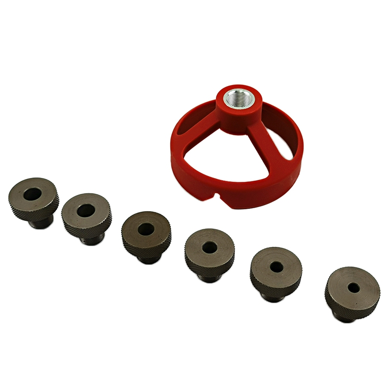 90 Degree Drill Guide Drill Bit Hole Puncher Locator Jig Bushing Woodworking Tools 5/6/7/8/9/10Mm