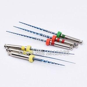 Image 3 - Arquivos odontológicos rotativos 02 04 06 acessórios da agulha do atarraxamento arquivos endônticos uso para a ativação térmica da limpeza do canal da raiz
