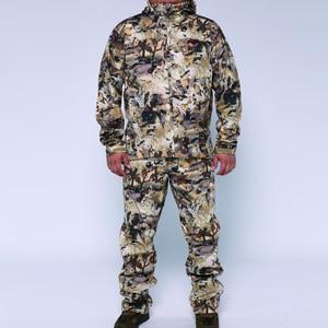 Image 1 - 2019 sitex 스나이퍼 huting jacket + pants 폴리 에스테르 방풍 보세 양털 물새 marsh